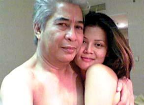 foto skandal max-moein, anggota DPR PDIP bersama Dewi
