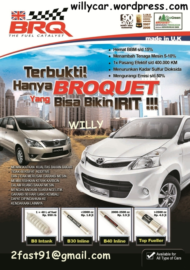 BROSUR A5 AVANZA DEPAN (no address) edit harga