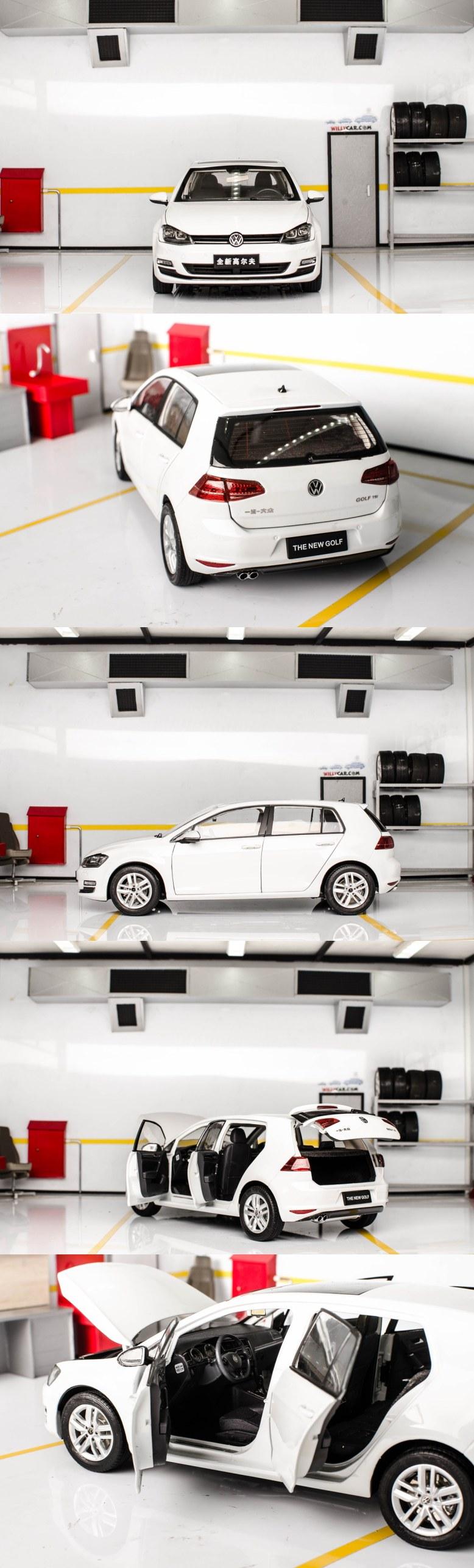 Jual Diecast Miniatur Mobil 1 18 Drive By Passion Bmw X1 Skala Paudi Vw Golf Mk7 Warna Putih Harga 1450000